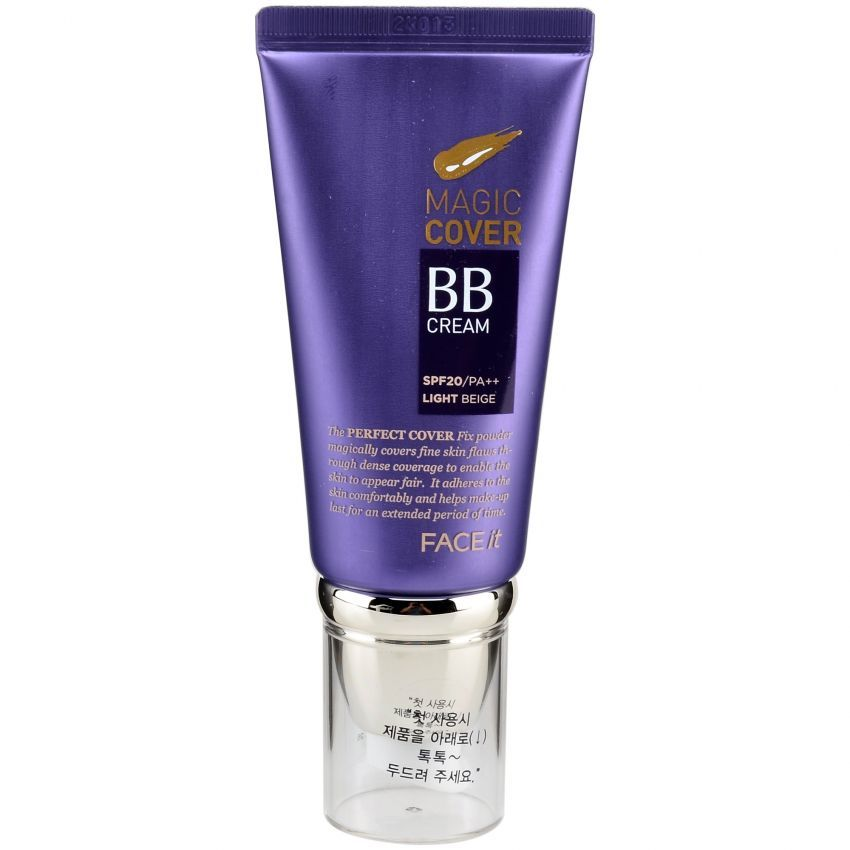 BB Cream Magic Cover The Face Shop 0