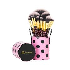 Bộ cọ BH Cosmetics Pink-A-Dot 11 Piece Brush Set 0