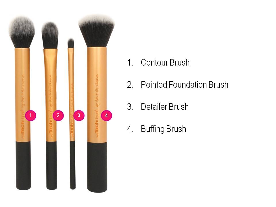 Bộ cọ Real Techniques Core collecttion 3