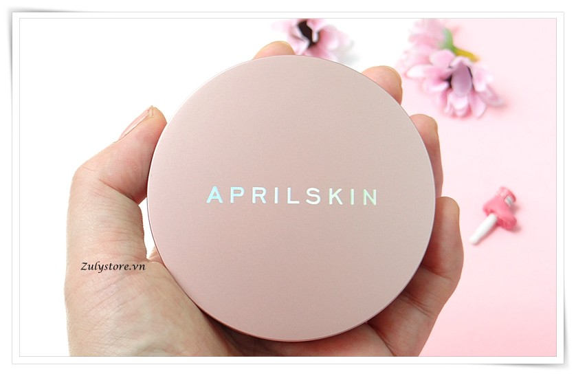 Cushion April Skin Magic Snow Fixing Foundation 2