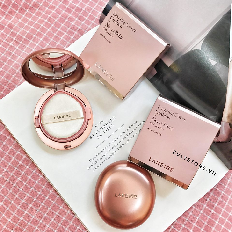 Cushion Laneige Layering Cover 1