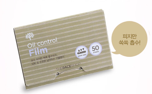 Giấy thấm dầu The Face Shop Oil Control Film 0
