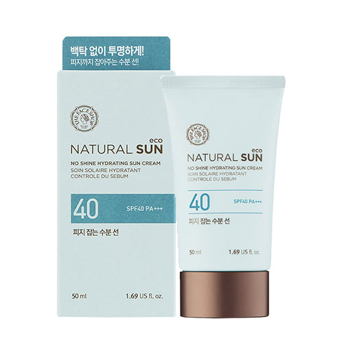 Kem chống nắng The Face Shop Natural Sun No Shine Hydrating Sun Cream 0