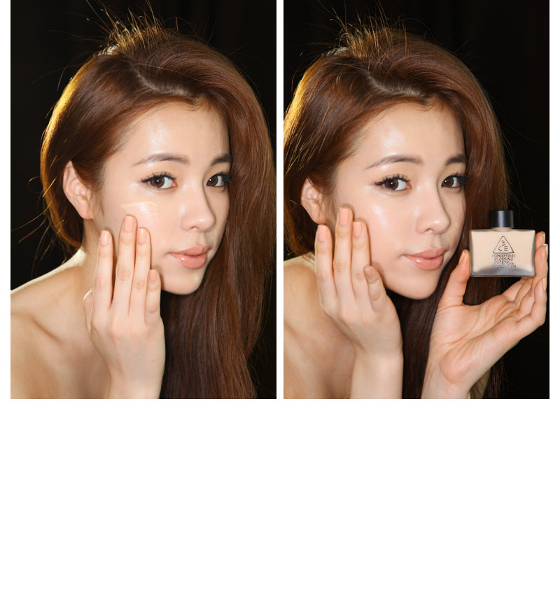 Kem nền Glossing waterful foundation - 3 Concept Eyes 3