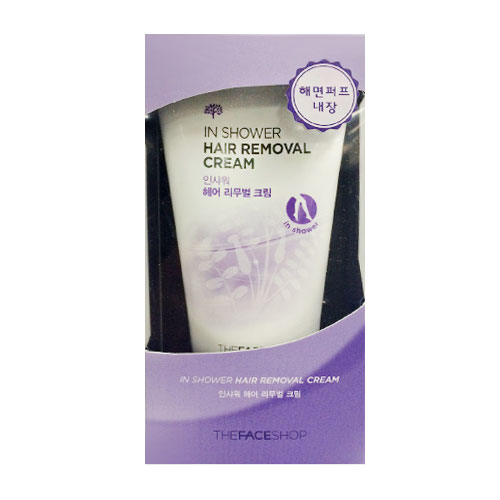 Kem tẩy lông In Shower Hair Removal Cream The Face Shop ( mẫu 2015) 0