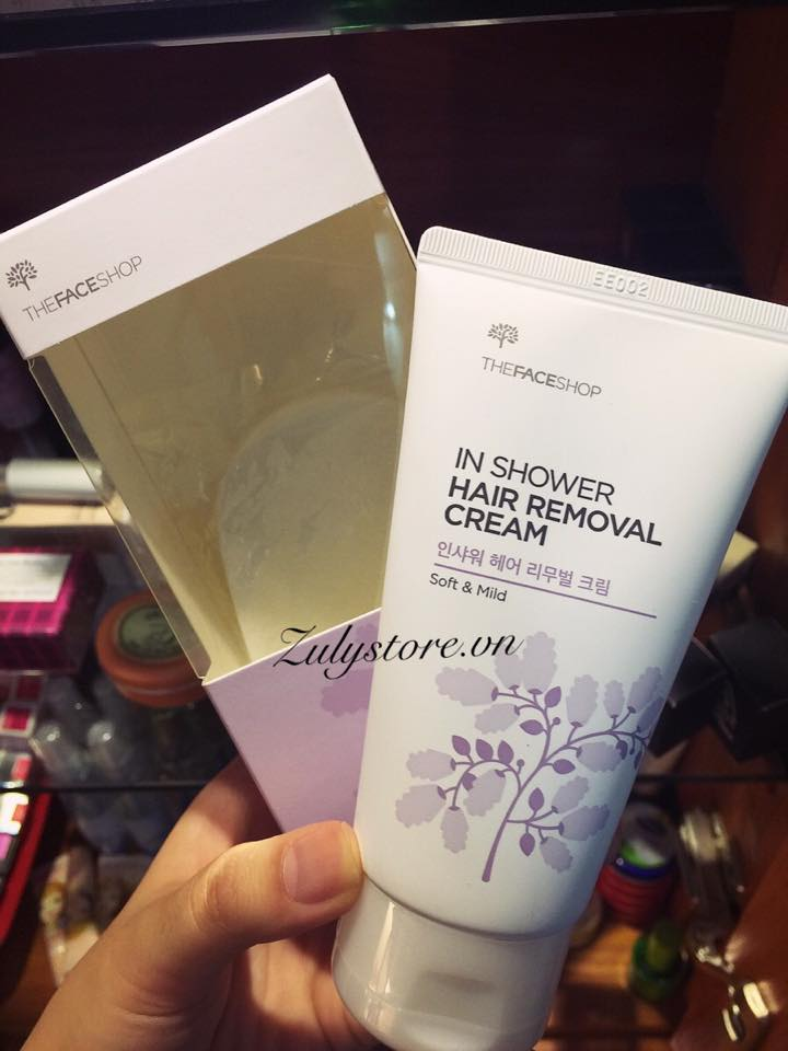 Kem tẩy lông In Shower Hair Removal Cream The Face Shop ( mẫu 2015) 1