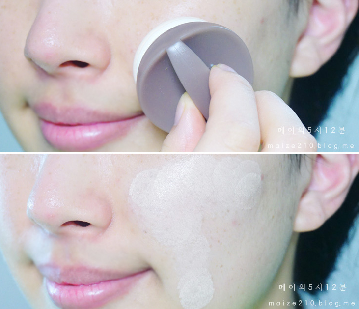 Ken chống nắng Natural Sun ECO Ice Air Puff - The Face Shop 4