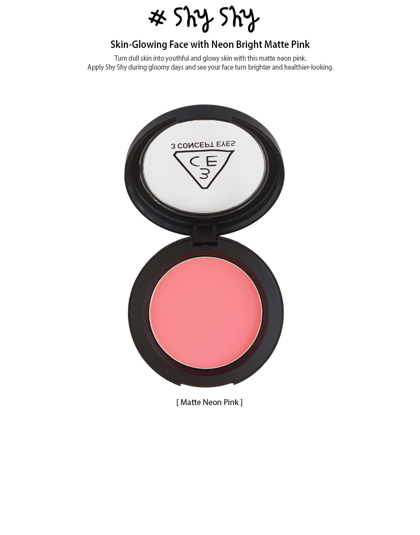 Má hồng Face Blush - 3 Concept Eyes 6