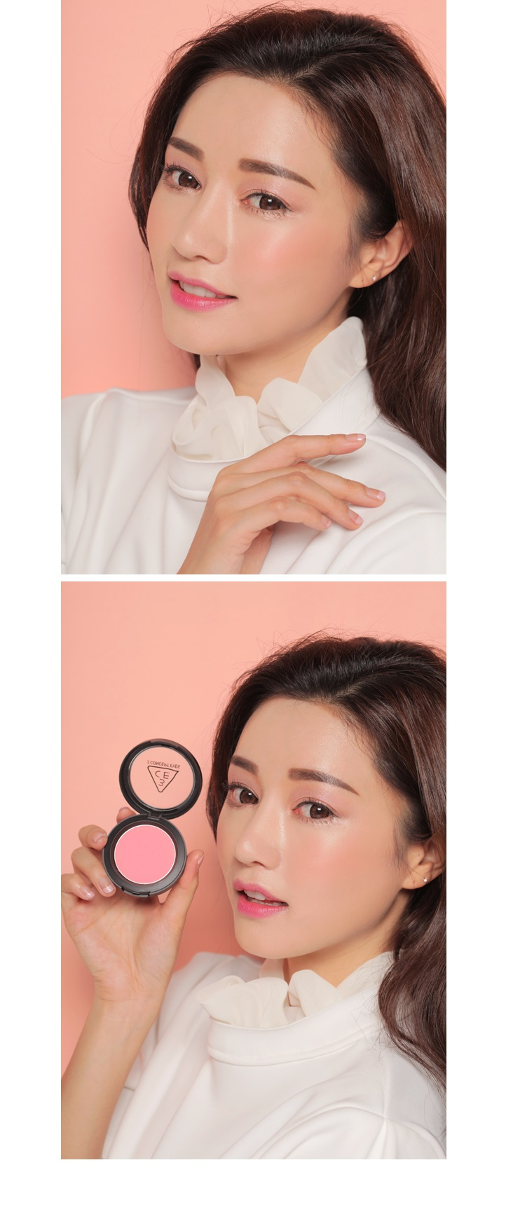 Má hồng Face Blush - 3 Concept Eyes 9