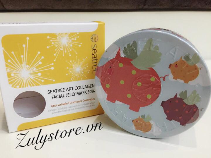 Mặt nạ collagen thạch Seatree Art Collagen Facial Jelly Mask 50% 1