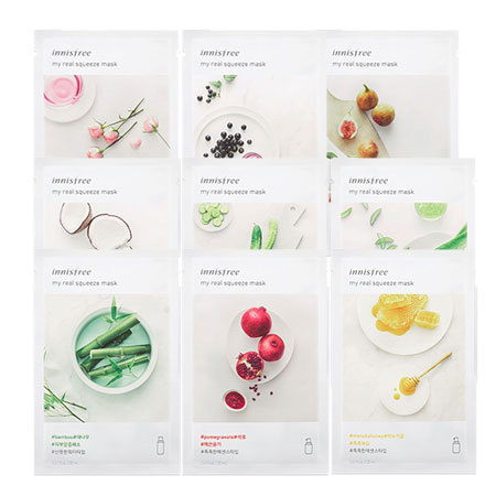 Mặt nạ Innisfree My Real Squeeze Mask 2017 0
