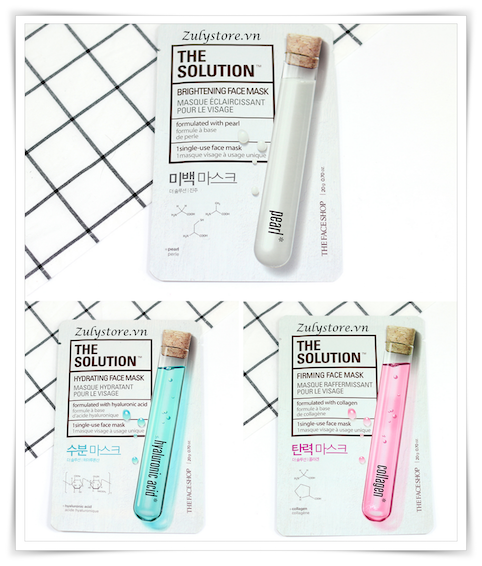 Mặt nạ The Face Shop The Solution Mask Sheet 5