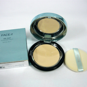 Phấn Face It Oil Cut - The Face Shop 1