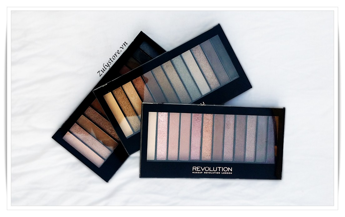 Phấn mắt Revolution Eyeshadow Palette Iconic 1