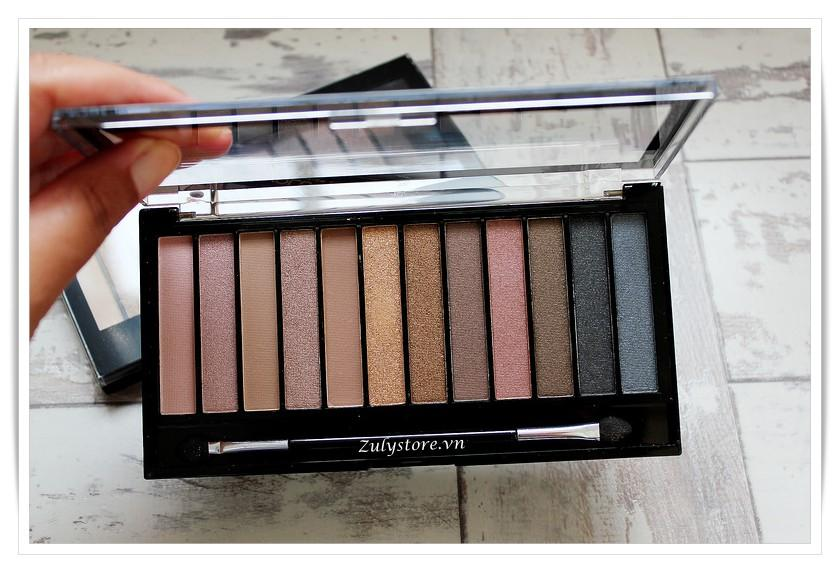 review chi tiet bang mat revolution eyeshadow palette iconic 3